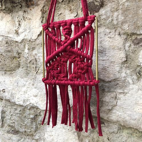 Wandbehang gold rot