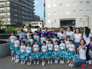【nicokids】7月28日!船橋市民まつりでダンスパフォーマンスを行いました!