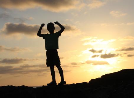 幼少期の運動経験で自信を育みます。根拠ない自信・ポジティブ思考!