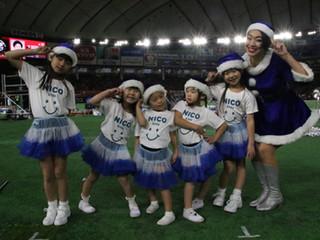 【nicokids報告】12月16日に東京ドームにて社会人アメリカンフットボール決勝のオープニングに出演しました