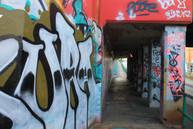 Grafitti Bridge on Boulevard