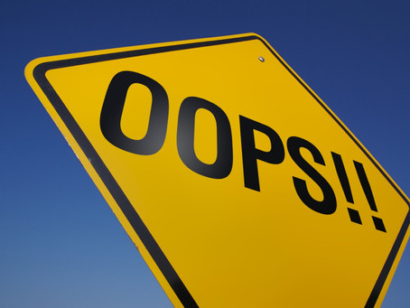 Como é tratado o Erro na sua empresa?