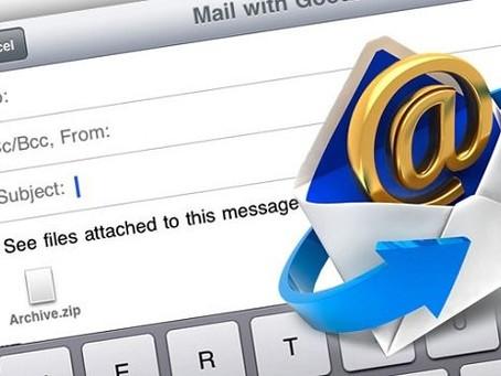 """Vamos """"limitar"""" o uso do e-mail?"""