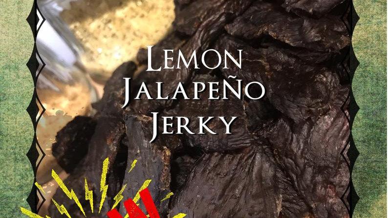 Lemon Jalapeno Beef Jerky