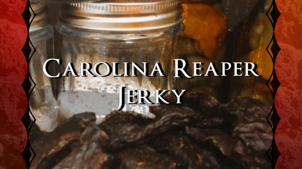 Carolina Reaper Jerky