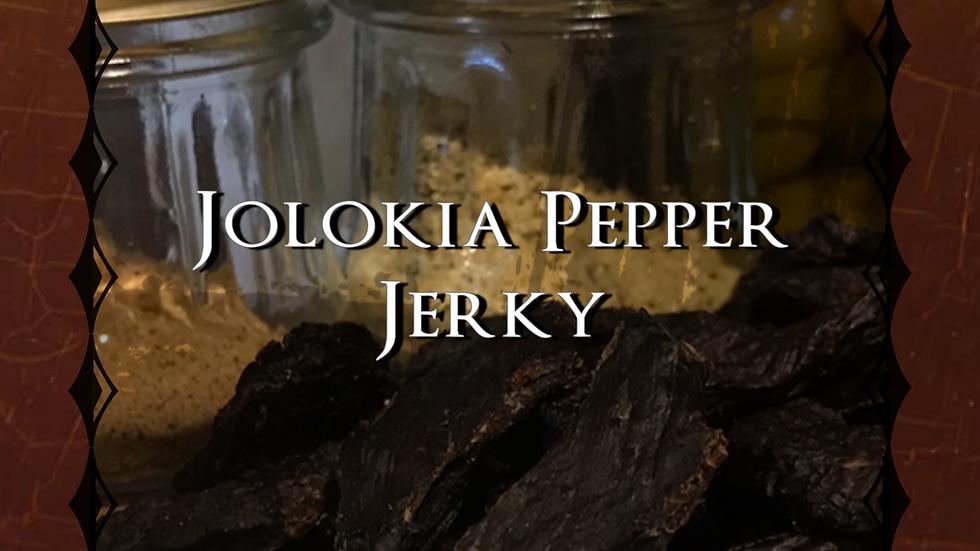 Jolokia Pepper Jerky