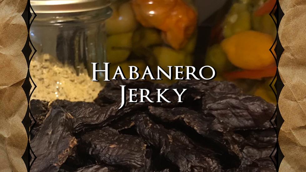 3lbs Habanero Pepper Jerky