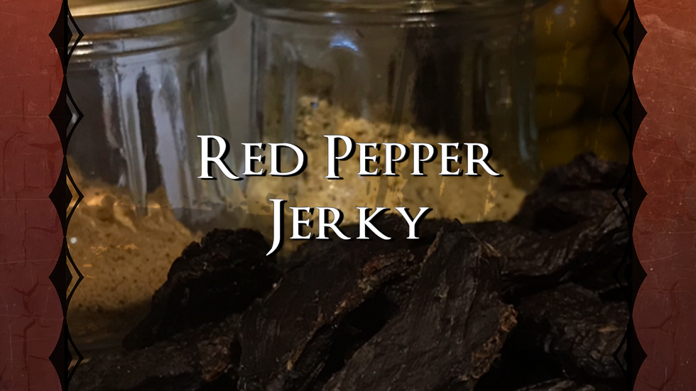 5lbs Red Pepper Jerky
