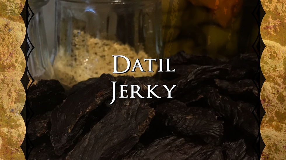 St. Augustine Datil Jerky