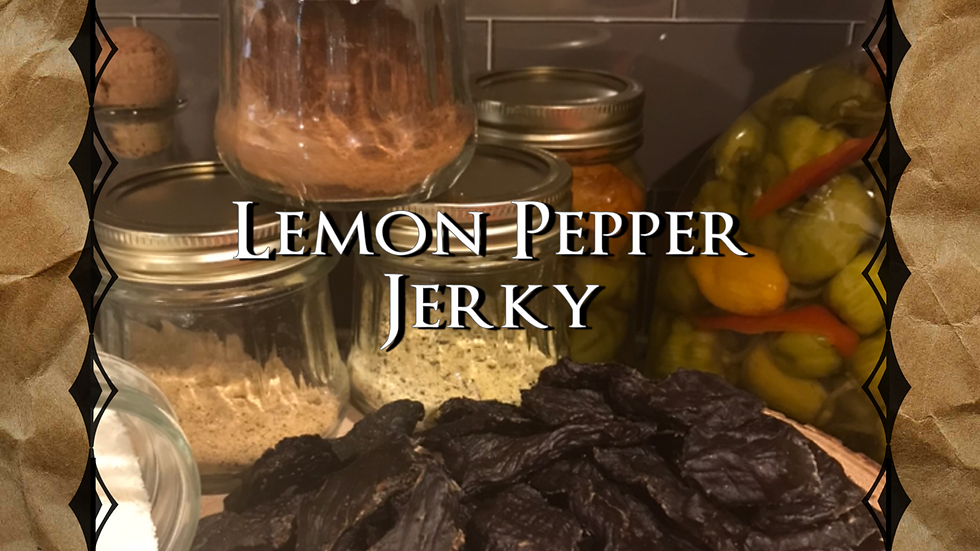 Lemon Pepper Jerky
