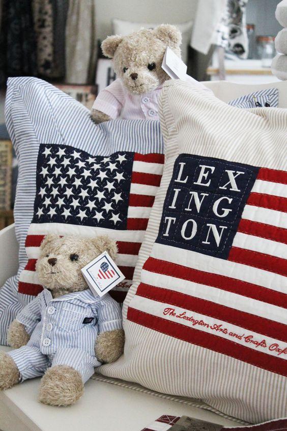 Coussin US Lexington