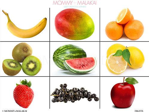 Fruits + Veggies Activity Mat | 2 Pages!