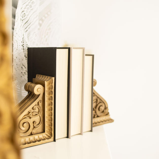 Decorative Books and Book Holders