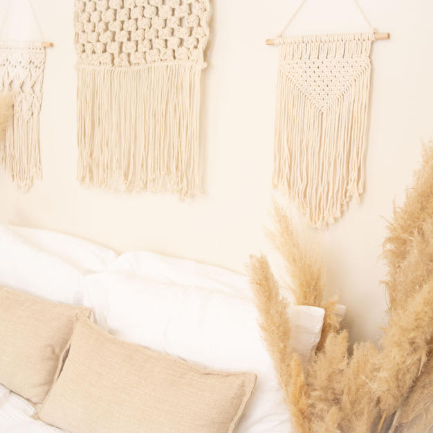 Macrame Hangings (can be moved around)