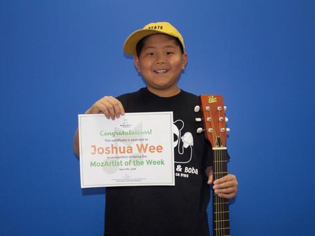 MozArtist of the Week - Joshua