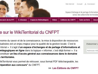 WikiTerritorial du CNFPT