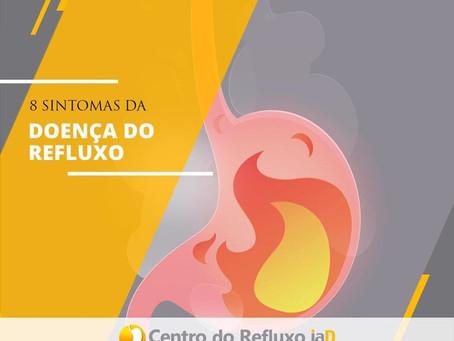 8 sintomas da doença do refluxo