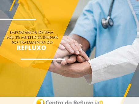 Equipe multidisciplinar no tratamento do refluxo
