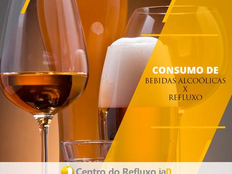 Consumo de bebidas x Refluxo