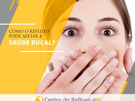 Como o refluxo pode afetar a saúde bucal?