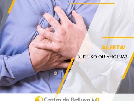 Alerta! Refluxo ou angina?