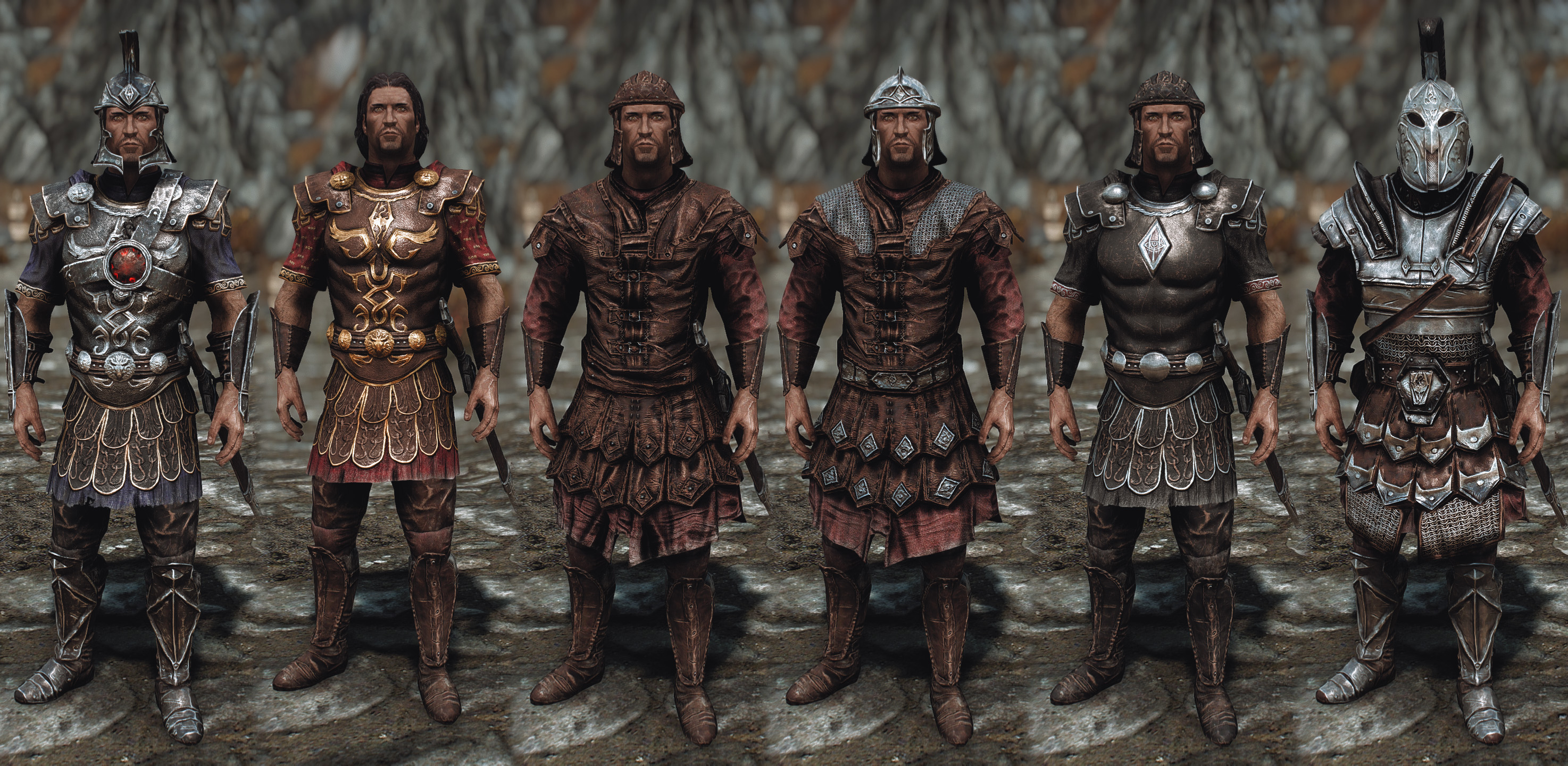 Frankly HD Imperial Armor and Weapons