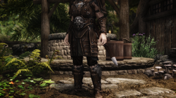 Leather Armor Replacer