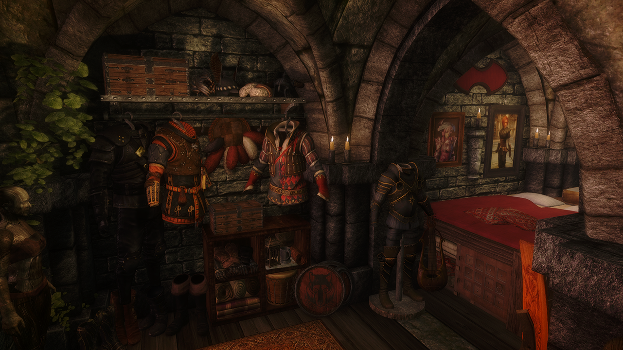 The Rookery - Bard and thief loft in Solitude
