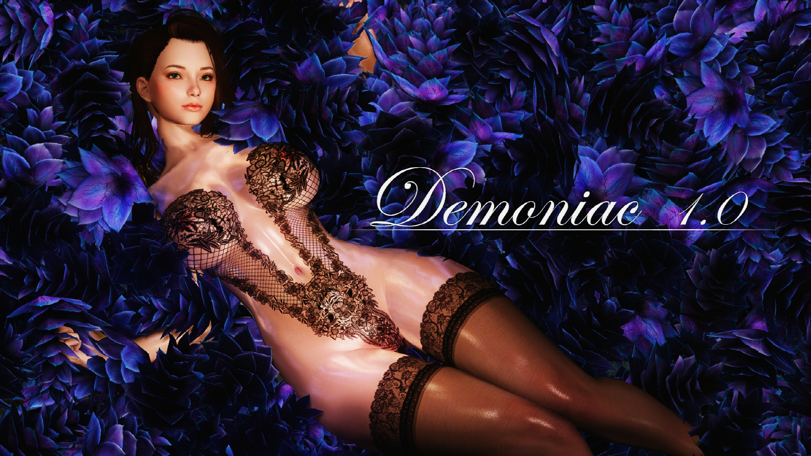 Demoniac- High Quality Glossy Female Body Texture 8K 4K 2K