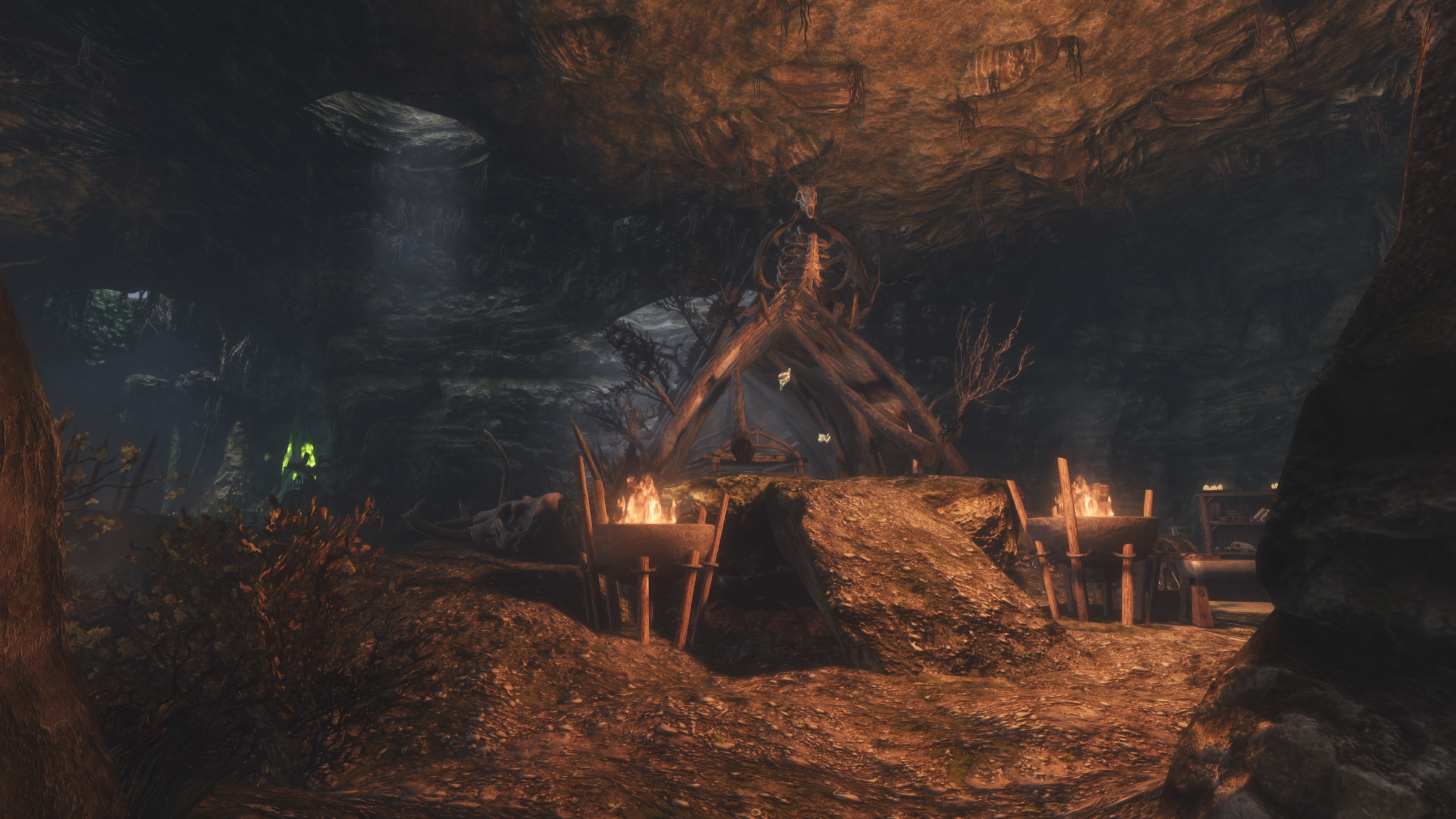 Shurrashi's Den - Voodoo styled Player Home