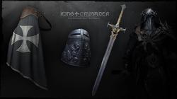 DCR - King Crusader Heavy War Regalia