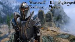Warcraft 3 Footman Reforged