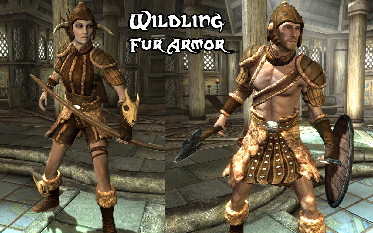 Wildling Fur Armor