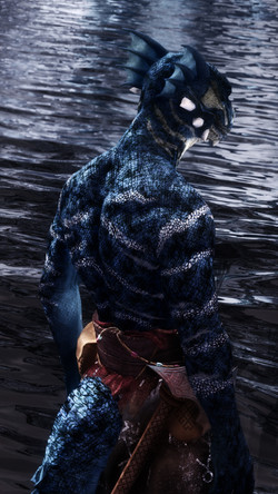 Beast Race Bodypaints -Khajiit and Argon