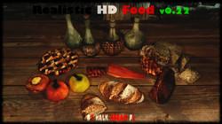 Realistic HD Food