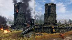 Whiterun Watchtower Doesn't Start Broken