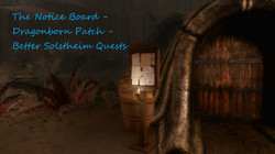 Notice Board - Dragonborn DLC - Better Solstheim Quests