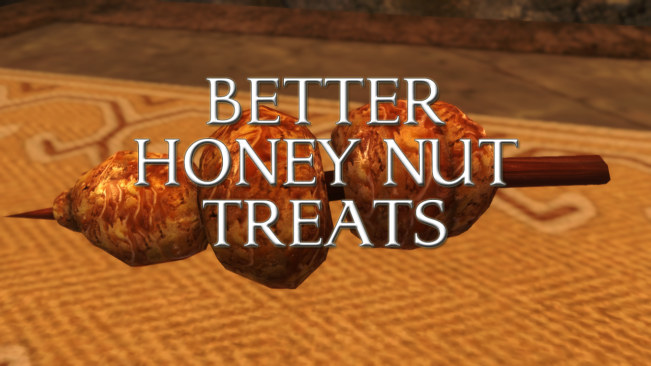Better Honey Nut Treats