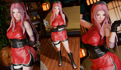 Sakura Outfit - CBBE 3BA - TBD - BHUNP