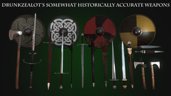 Drunkzealot's somewhat historically accurate weapons 1.43