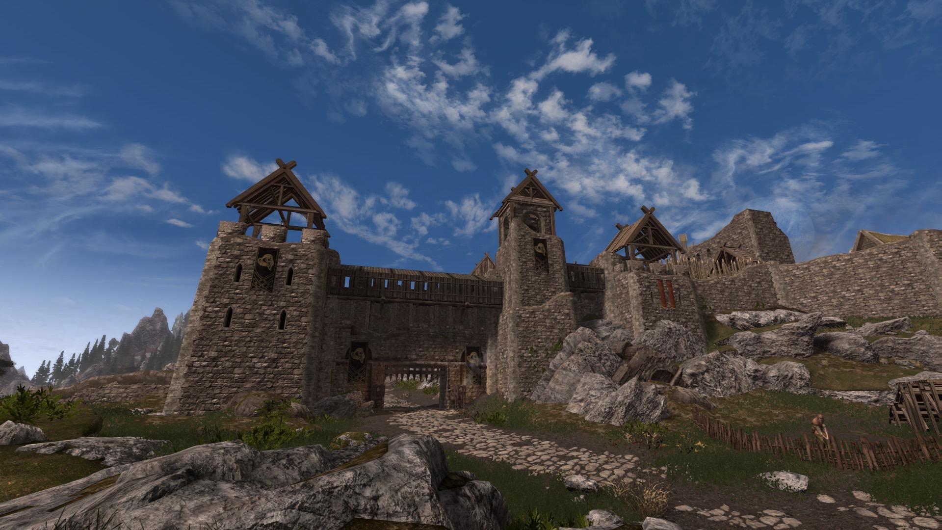 Fortified Whiterun