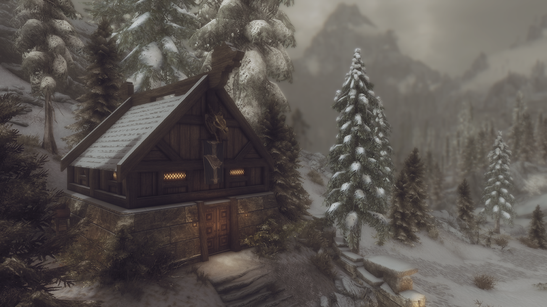 Routa - Stormcloak and Warrior cabin