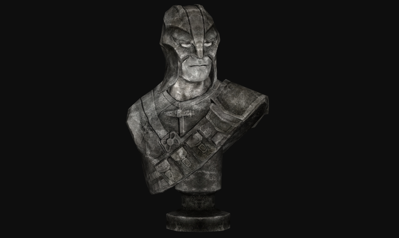 Iconic's Bust Of The Gray Fox Retexture.
