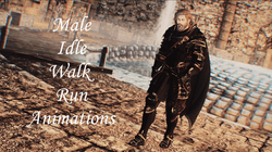 Leviathan Animations - Male Idle Walk And Run