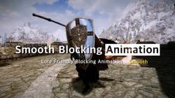 Smooth Random Blocking Animation