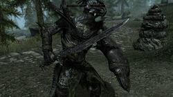 Falmer Weapons for aMidianBorn Book of Silence users