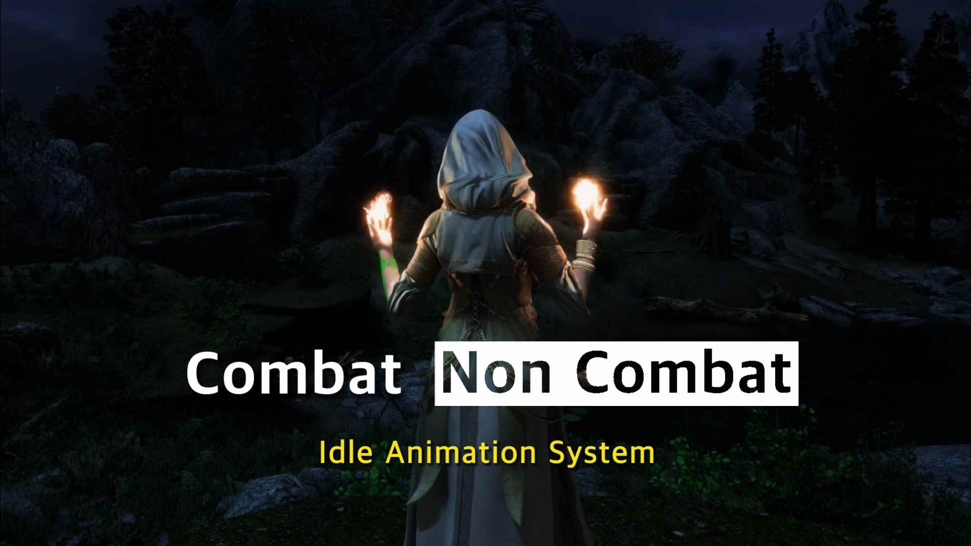 Smooth Combat - Non Combat Animation Sys