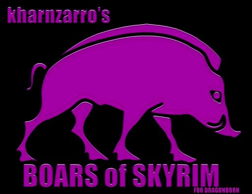 Boars of skyrim