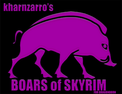 Boars of skyrim