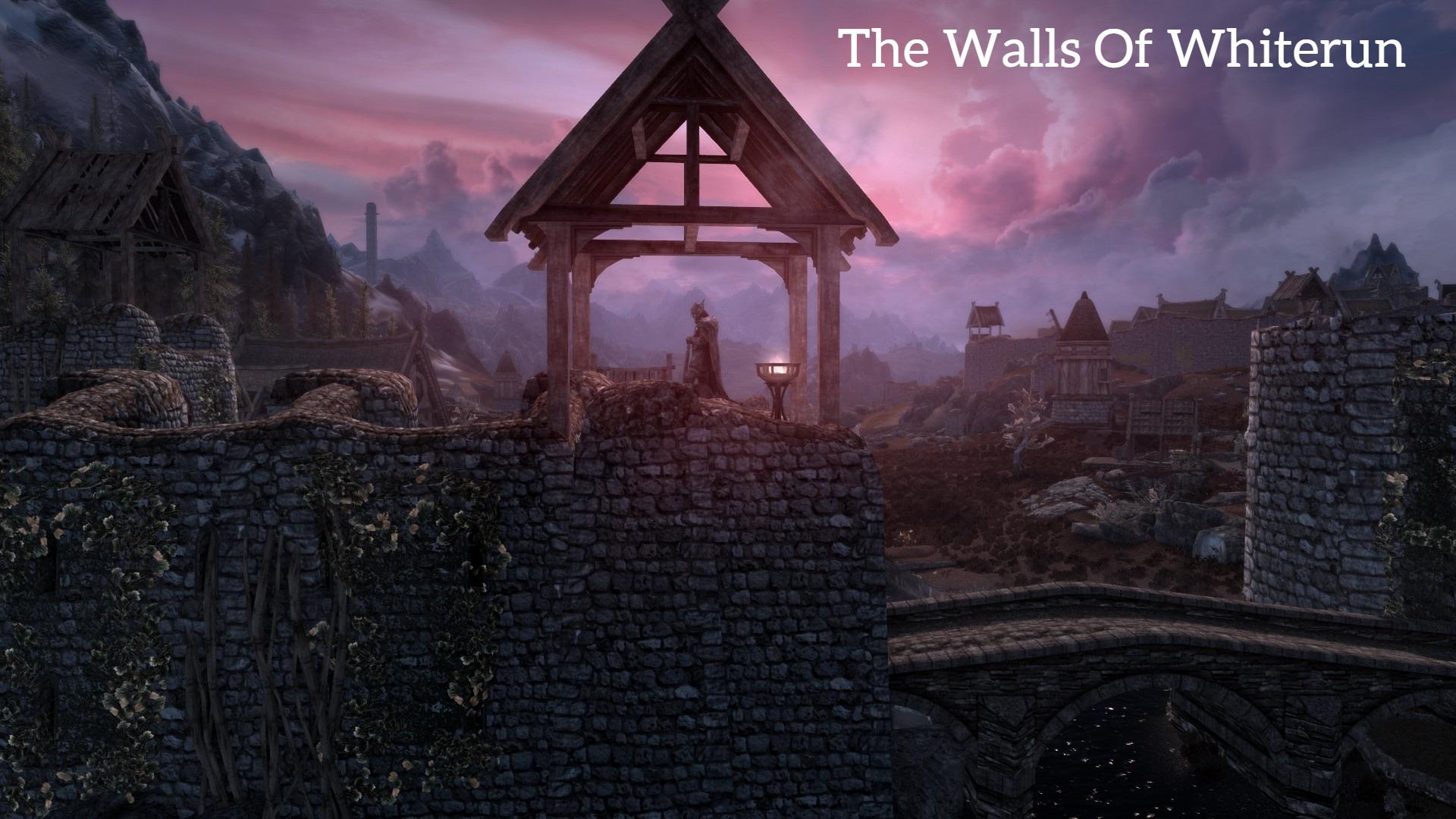 The Walls of Whiterun